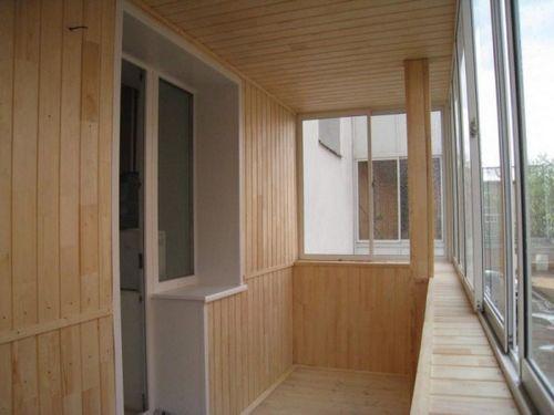 Отделка балкона панелями своими руками: инструкция, особенно.