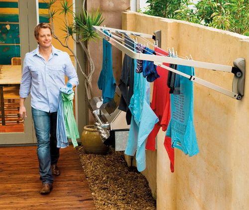 Вешалка для белья на балкон - пошаговые инструкции подробно!.