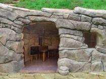 Как сделать беседку из камня, фото конструкций из натурального и искусственного камня, мраморных, из бута, а также технология строительства каменной беседки своими руками