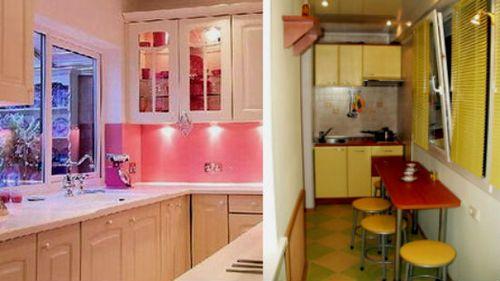 Как сделать перенос кухни на лоджию? фото как из лоджии сдел.