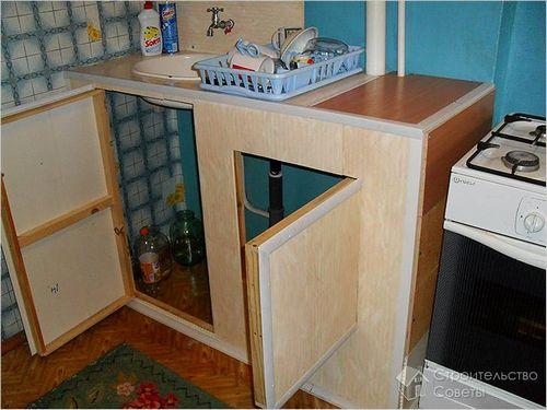 Шкаф под столешницу своими руками 64
