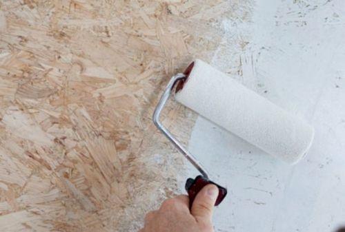 Отделка потолка из осб плит