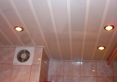 Реечный потолок видео своими руками